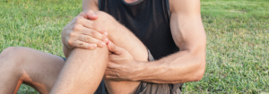 Minor Trauma Man cropped knee only
