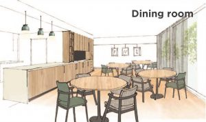Dining room labelled
